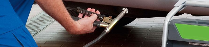 Emission ford tailpipe testing for Washington state motor vehicle emission inspection station